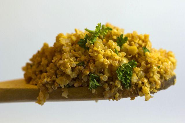 Ardei copți cu quinoa și smântână (de la 8 luni) | Diversificare.ro