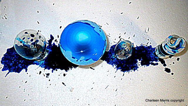 Light Bulb Blue Project