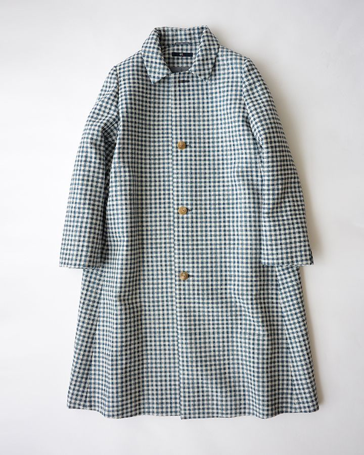 a gingham coat - oh yes!
