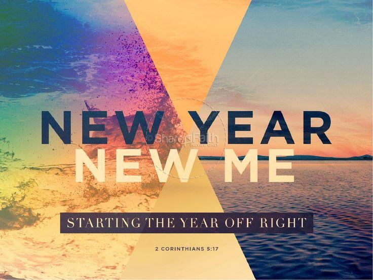 New Year New Me Sermon PowerPoint