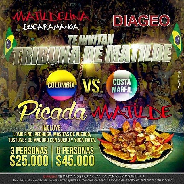 #evento #mundial #partido #miseleccion #fiebremundialista #mundial2014 #cccuartaetapa Matildelina