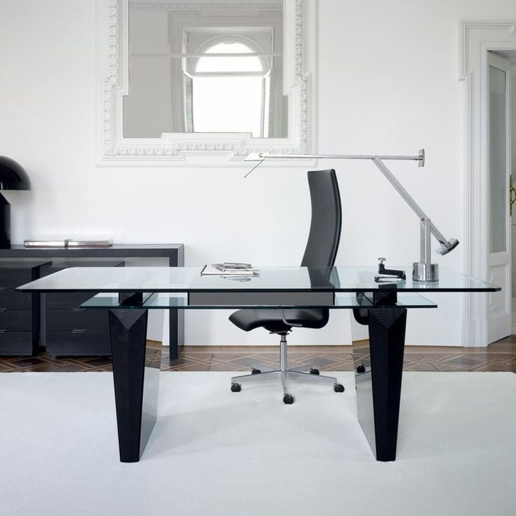 Best 25+ Contemporary office desk ideas on Pinterest | Modern ...