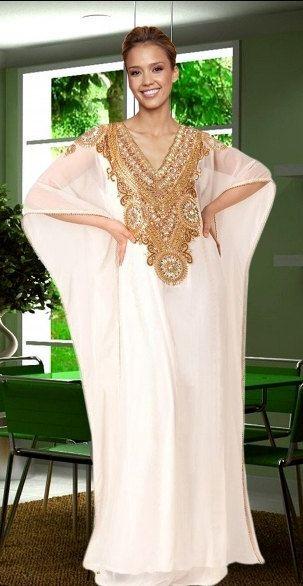 Caftanes muy lujo Dubai / abaya jalabiya damas por ZUBEDABOUTIQUE