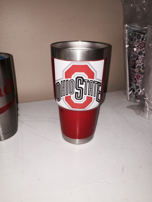 Ohio State 30oz Yeti cup Lonestar Concepts & Design ...