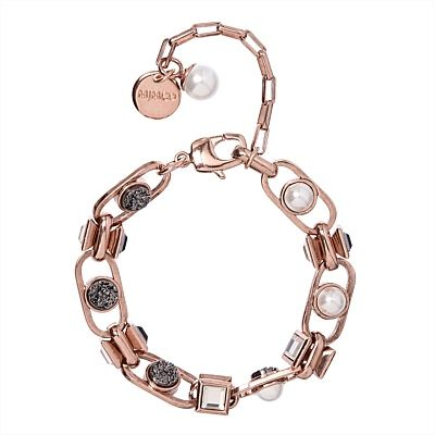 Brava for a scattering of pearls and druzy stones #mimco