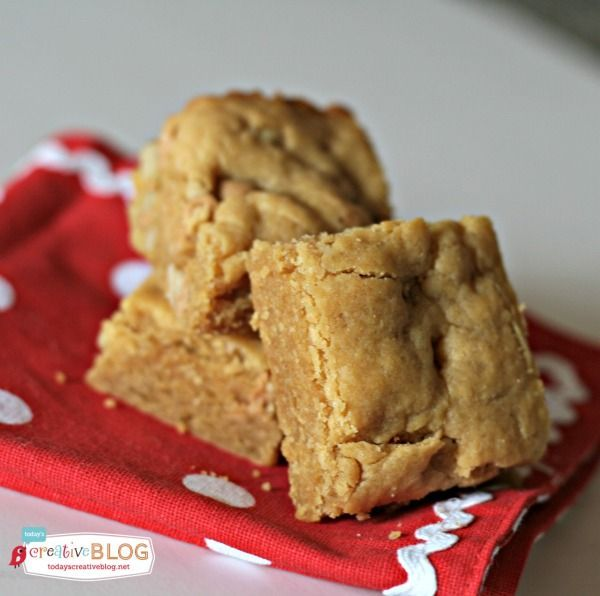 Cake Mix Peanut Butter Brownie Recipe couldn't be more easy and delicious to make for that sweet treat craving! Who doesn't love peanut butter!?