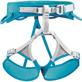 Petzl Luna Rock Climbing Harness - Womens. from Paragon. Good sports gear should NOT be cheap. Be worried if it is.  That doesn't mean you can't save. Open a free account with us to receive 4% cashback every time you shop online at Paragon: http://www.rebatecove.com/login?page_key=932895138=4_id=156876