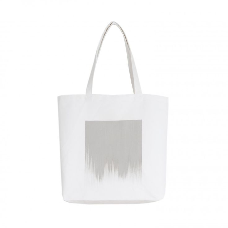 Arela | Stevie Tote Bag. Hand sewn, hand painted, recycled cotton.