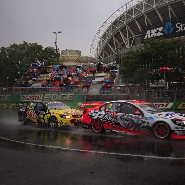 Close racing even in the deluge at Sydney