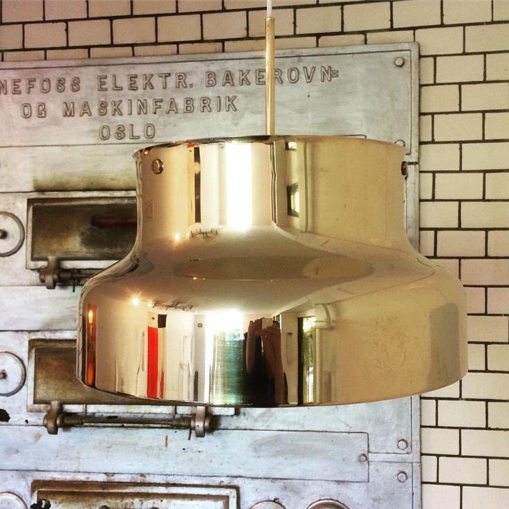 """126 gilla-markeringar, 5 kommentarer - No Name Vintage (@nonamevintageshop) på Instagram: """"Bumling in solid brass, diameter 40 cm, Atelje Lyktan, 60's. #nonamevintageshop #vintage #goteborg…"""""""