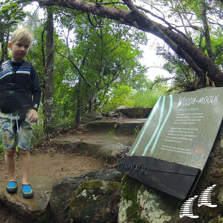 Walking trails located in the Whitsundays