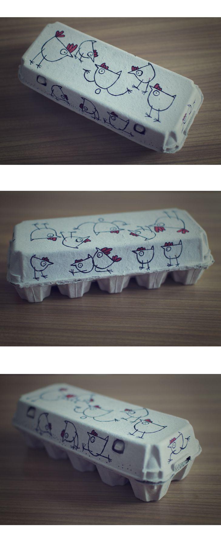 Egg packaging - kurosutra on Behance
