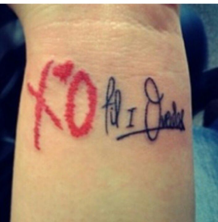 36 best Xo Tattoo images on Pinterest | Xo tattoo, Design ...