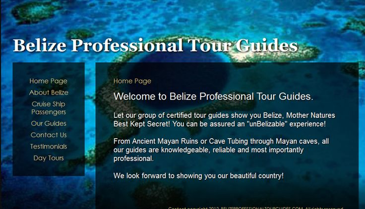 Belize Professional Guides