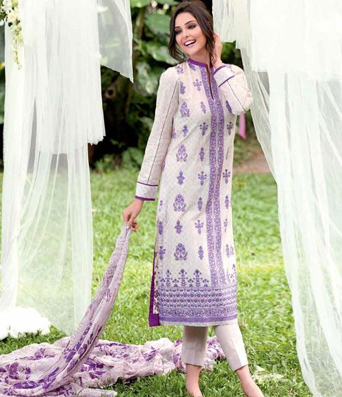 Gul Ahmed Embroidered Chantilly Chiffon Collection Vol-1 CT-101