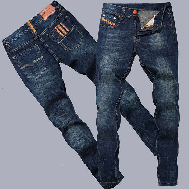 Fashion cotton straight Thin models Europe and America men jeans classic new denim jeans young long jeans men