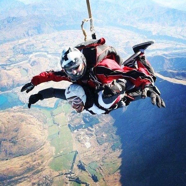 Queenstown adventures - Demais! skydive nzone newzealand 15000pes...