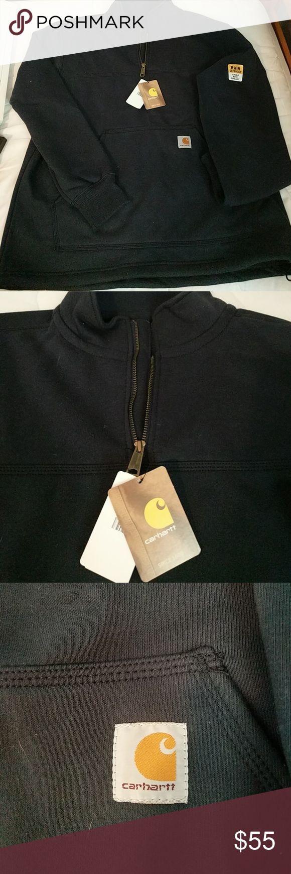 Mens Carhartt Jacket. New price!! Half Zip pullover sweatshirt. Front pocket. Brand new, Never worn!! Carhartt Jackets & Coats Lightweight & Shirt Jackets