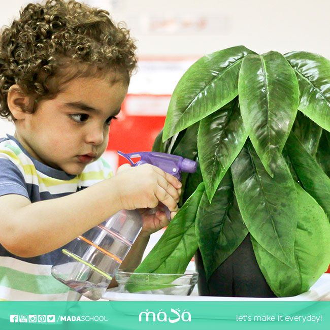 "An English slogan once said: ""An apple a day keeps the doctor away"".. We say: ""A hand in clay makes the child's day"". #kid #nursery #Egypt #Cairo #mom"