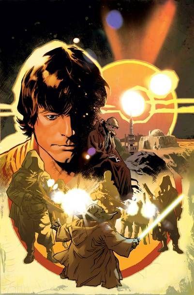 Luke Skywalker encuentra diarios y cartas viejas en la cueva de Obi-Wan en…