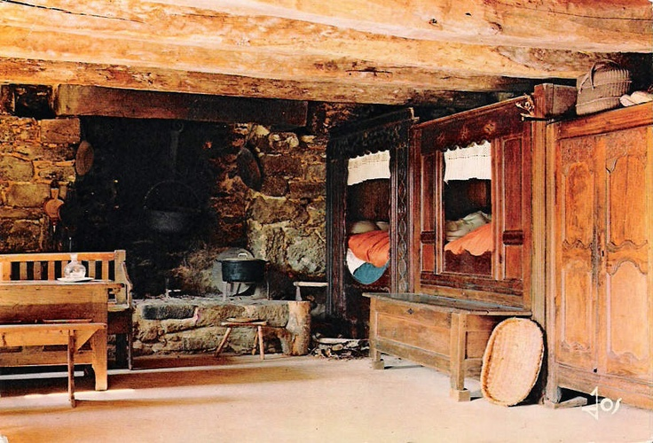 47 best images about box bed or lit clos on pinterest. Black Bedroom Furniture Sets. Home Design Ideas