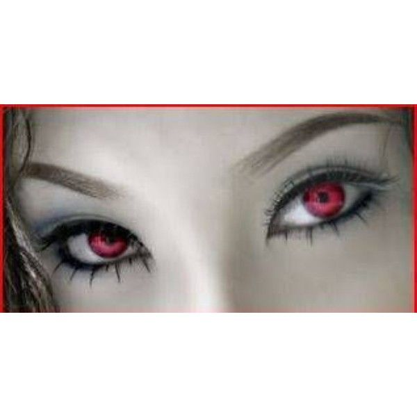 Special Effect Contact Lenses for Halloween and Twilight Costumes ❤ liked on Polyvore featuring beauty products, makeup, eye makeup, eyes, contacts, beauty, eye color, black makeup, black eye makeup and kohl makeup