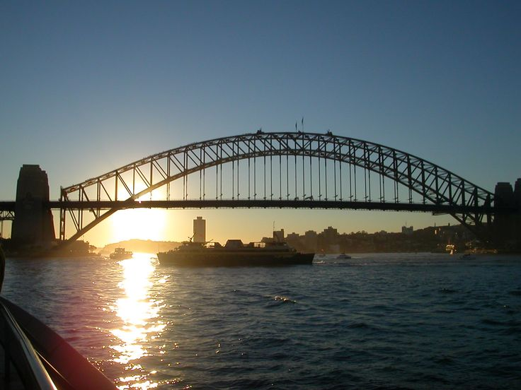 Sydney scenes (Harbour bridge)