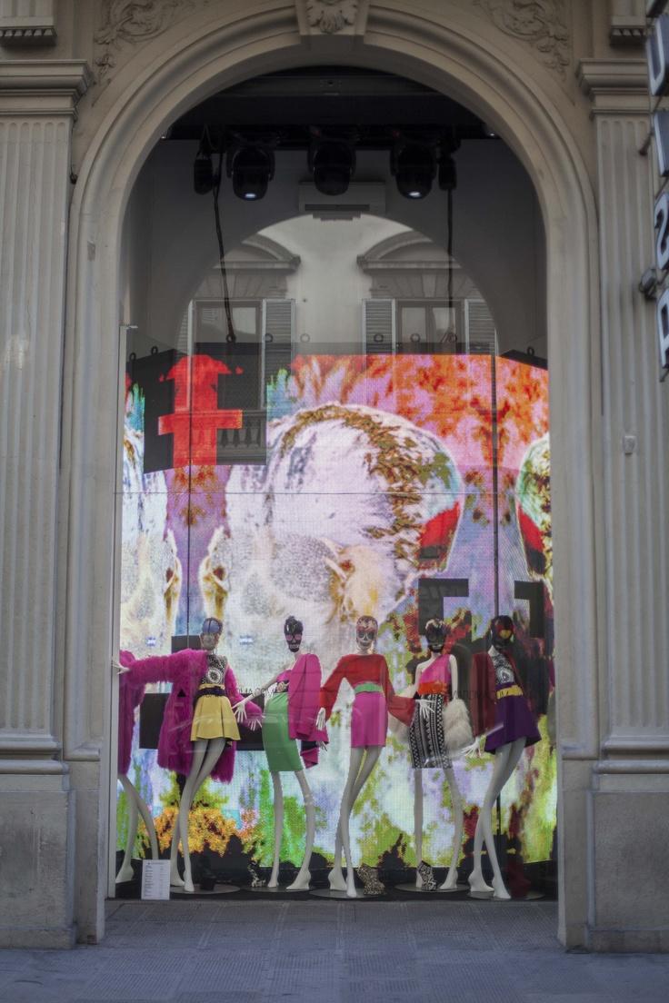 Luisa Via Roma's window  www.luisaviaroma.com