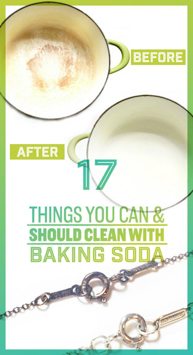17 Clever Ways To Clean Everything With Baking Soda