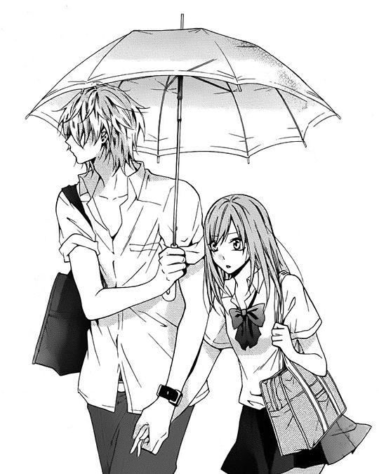 Mangá couple