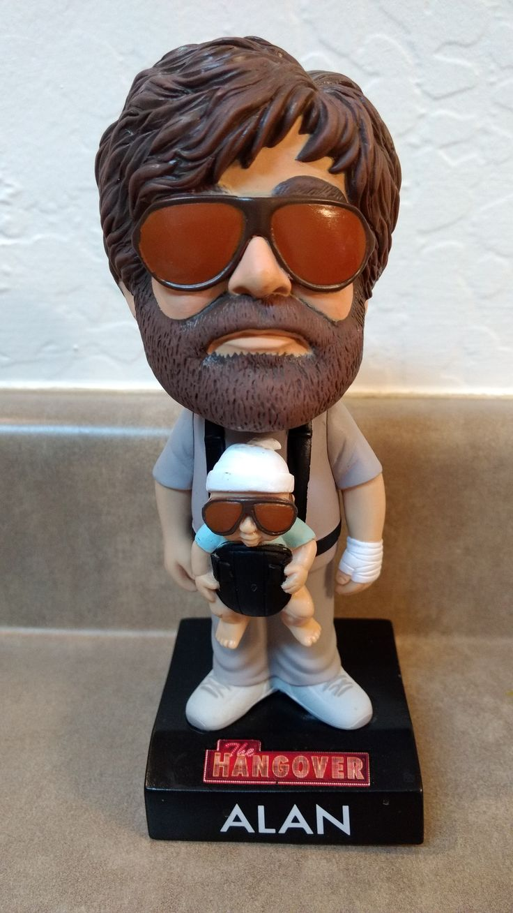 Alan from the Movie THE HANGOVER bobblehead
