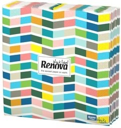 Swimming Pool Paper Napkins on Renova