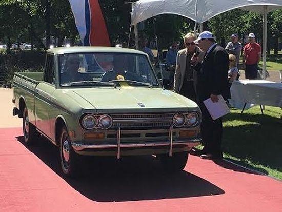 Exhibe Nissan una legendaria Datsun Pick Up 521 en el Concurso de Elegancia en Texas | Tuningmex.com
