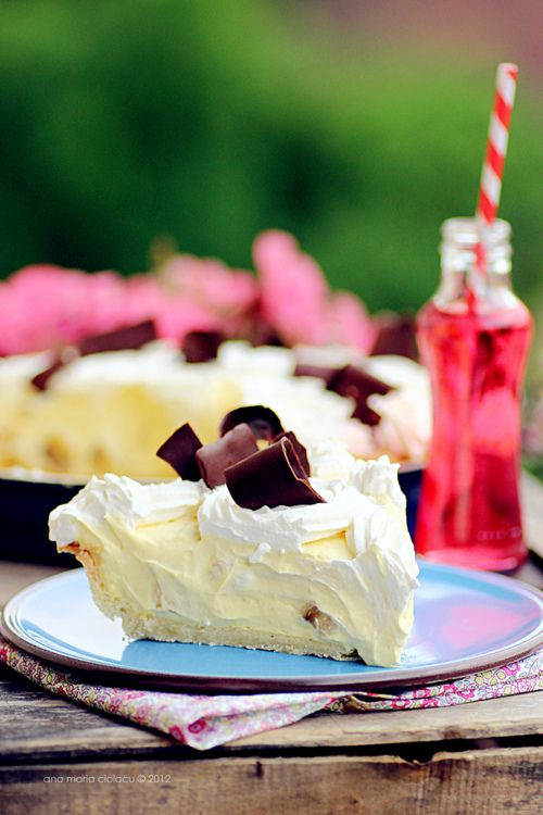 Banana Cream Pie. Our handpicked tasty, yummy and delicious food photo of