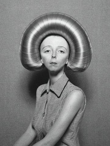 """Previous pinner: """"Bad Hair Day ;) """"   Me: No joke!  Credit: """"Koen Hauser is a multi-disciplinary artist. Using the wonders of both antique and modern technique, he creates work that seems to emerge from imaginary worlds and uncanny fairytales.""""*"""