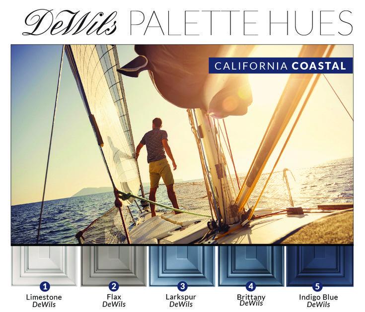 DeWils Cabinetry Coastal Inspired Color Collection Dewils
