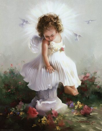 """Then my angel turned to me and said  """"You're the keeper of these dreams inside your head.  Dream sweetly now, and dream of love and light,  And dreams will lead you safely through the night."""