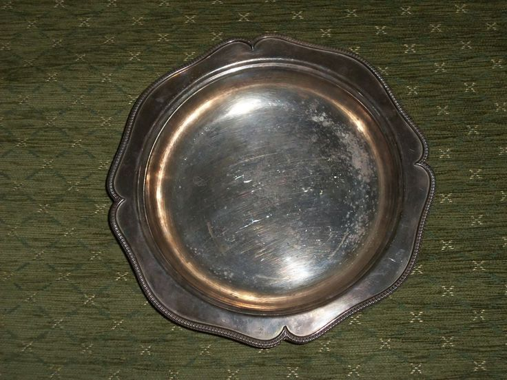 EDWARD AND SONS GLASGOW SLIVER PLATE 8307 DISH/BOWL