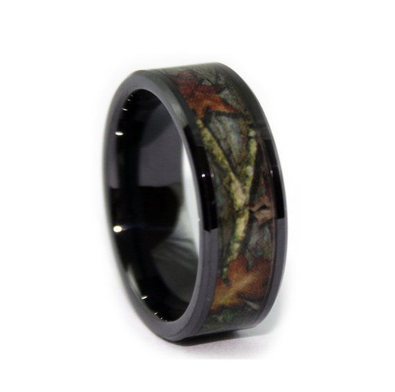 21 best Camo Wedding Rings on Etsy images on Pinterest Camo