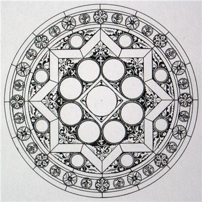 Средневековое искусство и готический орнамент Средневековое искусство и готический орнамент #94