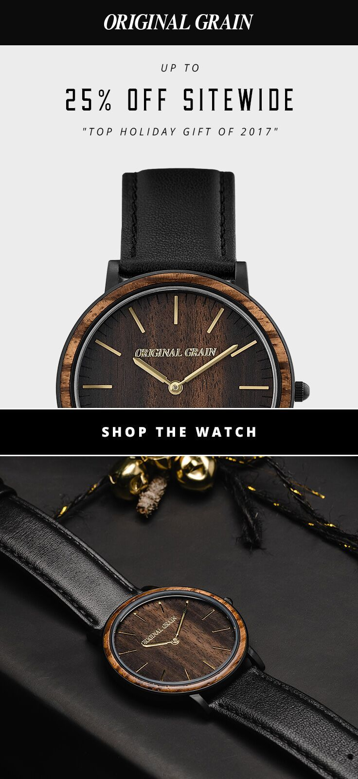 casual bamboo wrist ud strap watch gift quartz wooden face inlay her genuine watches pin with for analog leather and him wood