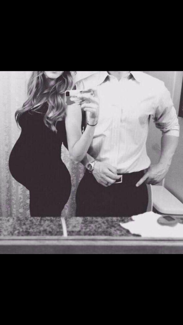 Goal pregnant body