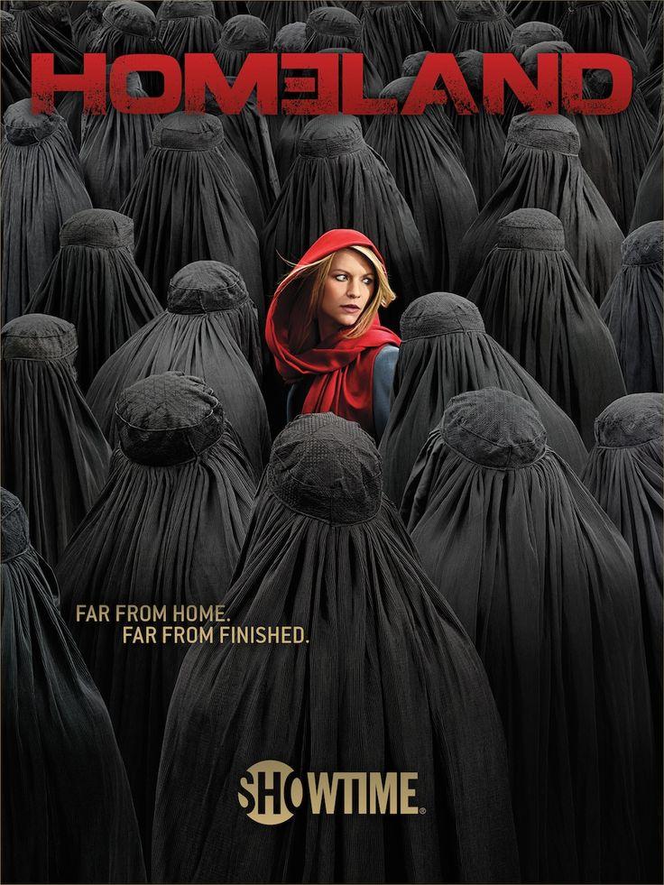 Poster de la saison 4 d'Homeland