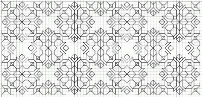 free blackwork embroidery motif and fill patterns SAVED