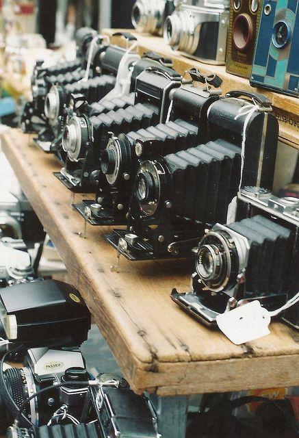 ♛ vintage cameras