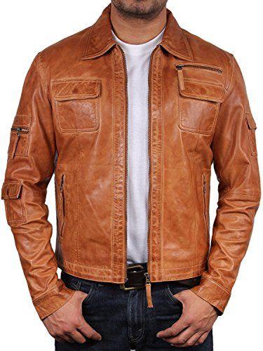 UK Vintage Men's Leather Biker Jacket Tan Real Leather Mo... https://www.amazon.co.uk/dp/B00IOUV50C/ref=cm_sw_r_pi_dp_x_WDs9xbR4500DM