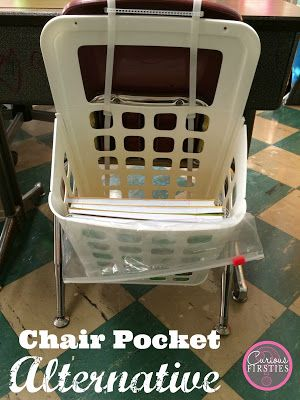 Chair Pocket Alternative: helping our students stay organized in the classroom