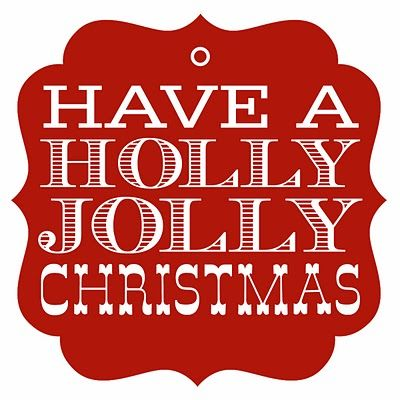 Christmas printables: Jolly Christmas, Christmas Gifts Tags, Gifts Ideas, Holly Jolly, Holidays, Gift Tags, Christmas Tags, Free Printable, Christmas Printable