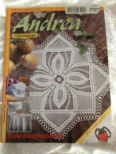 Andrea haekelspass 0209 haekeln decken handtuecher spitzen for Decken streichen leicht gemacht