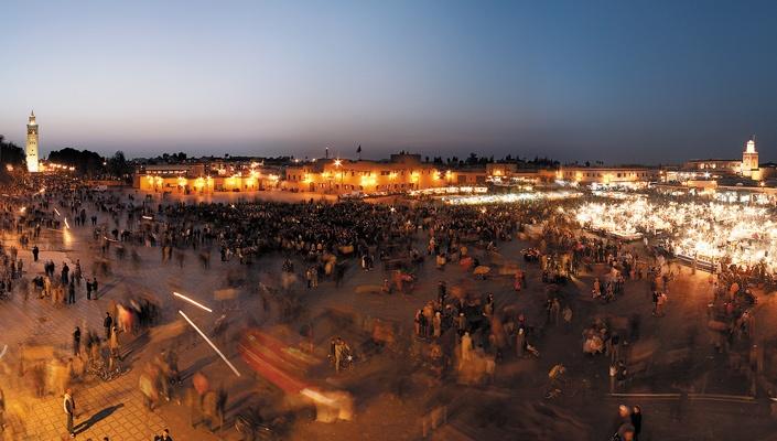 Marrakech markets